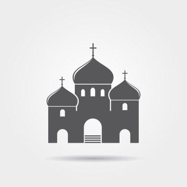 Christian temple icon