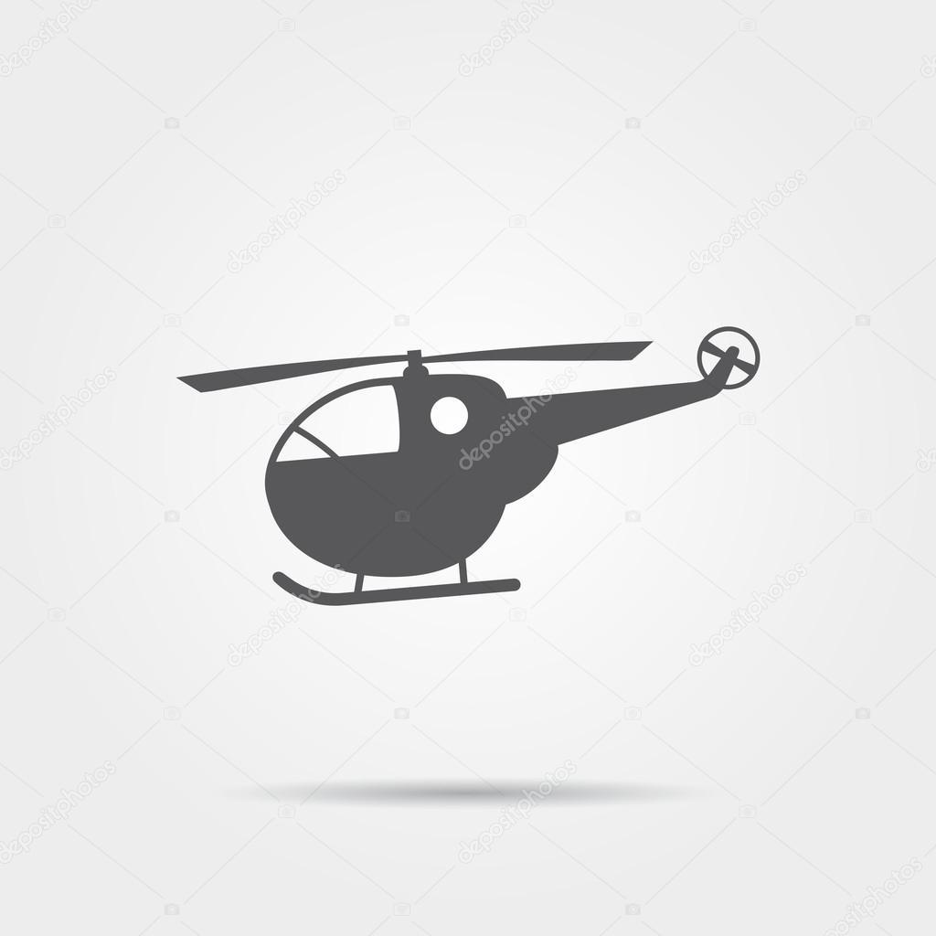 Картинки из символов вертолет