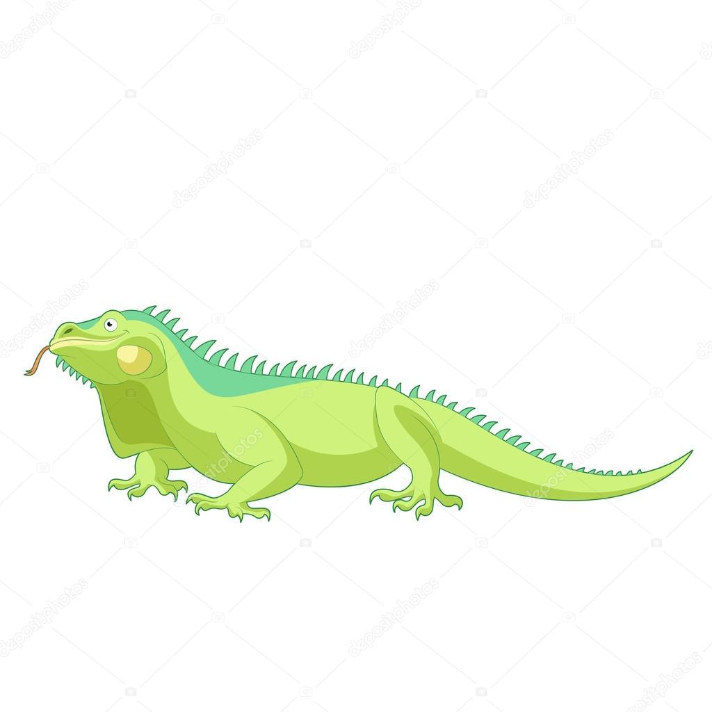 Imágenes Iguanas En Caricatura Dibujos Animados De Iguana