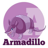 Fotografie ABC Cartoon Armadillo