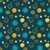 Fotografie seamless baby pattern