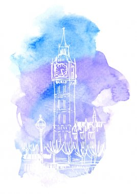 Big Ben tower symbol