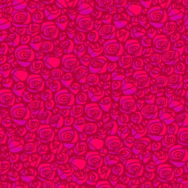 seamless pattern with rose flowers