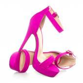 Fotografia Alla moda High Heels Shoe in rosa, immagine di Xxxl
