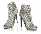 Fotografia Alla moda tacchi alti stivali alla caviglia, immagine di Xxxl
