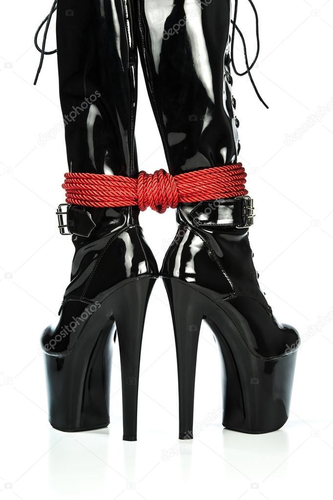 Lesbian High Heels Stockings