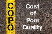 Business Acronym COPQ Cost Of Poor Quality