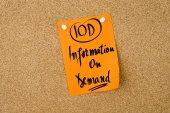 Obchodní zkratka Iod informace na požádání
