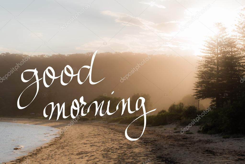 Good morning greeting stock photo stanciuc1 116875290 good morning greeting stock photo m4hsunfo