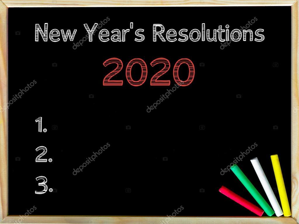 New Years Resolutions 2020.New Years Resolutions 2020 Stock Photo C Stanciuc1 63281485