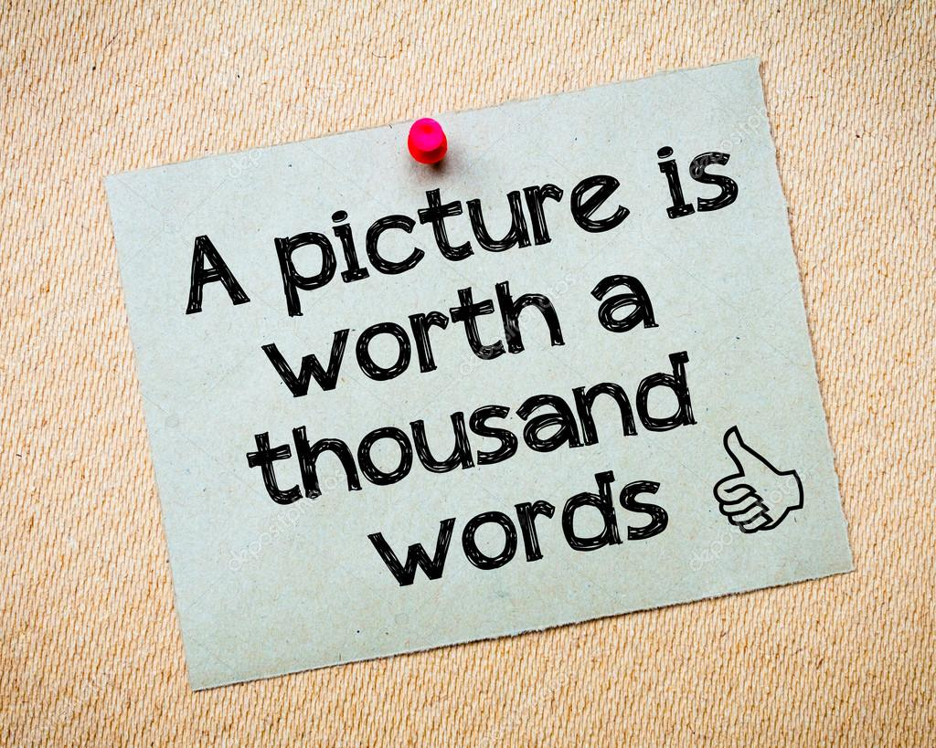 A Word Is Worth a Thousand Pictures Answers