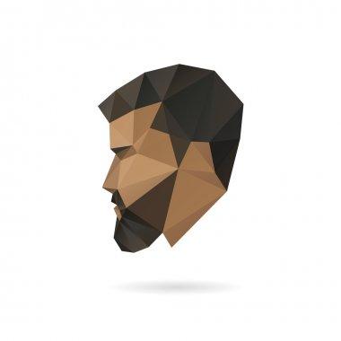 Fashion man silhouette