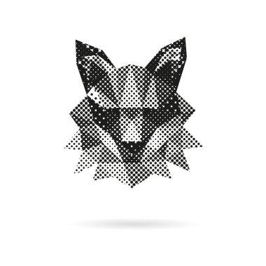 Fox head abstract