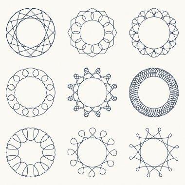 Simple geometric ornaments