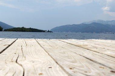 Wooden Sea Dock