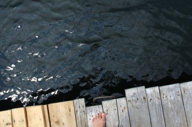 Jump Into Deep Blue Sea
