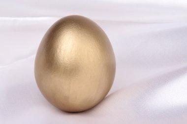 Easter Egg on Silk