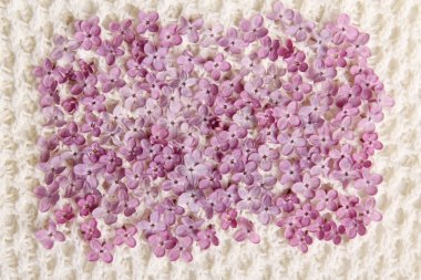 Bed of Lilac and Thread