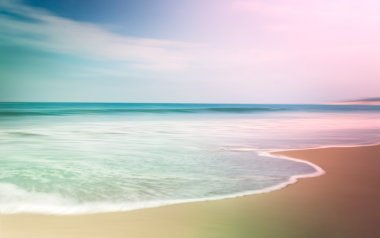 Colorful Blurred Seascape