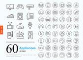 60 spotřebiče ikony