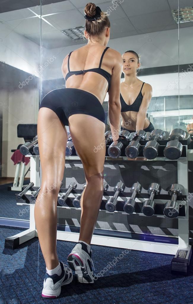 Фото девочек из спортзала