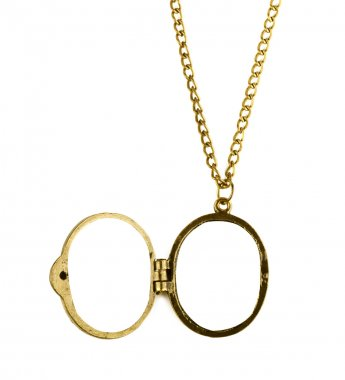 Brass locket