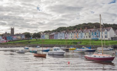 The harbour of the town of Aberaeron