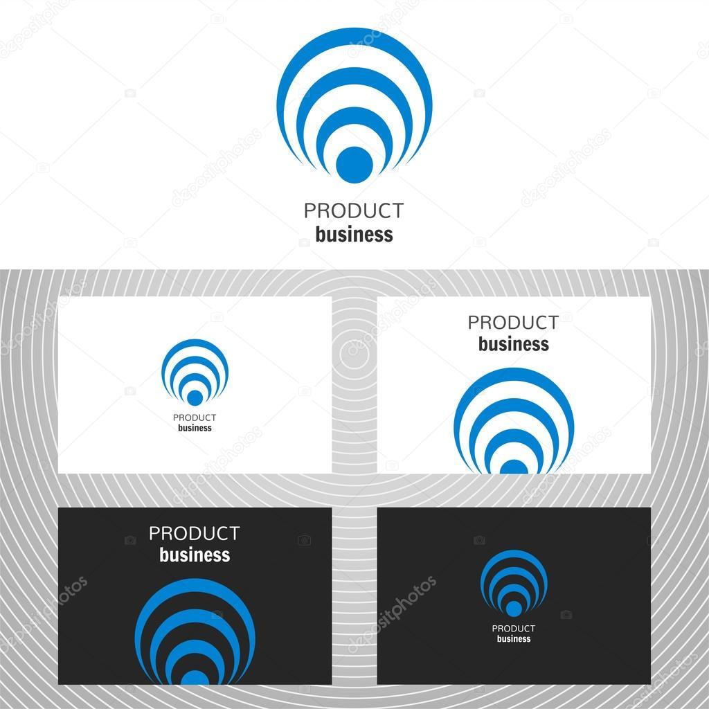 Lment De Design Vectoriel Pour Ldition Carte Visite Avec Logo Entreprises Mdias Technologie Vecteur Par Lilipom