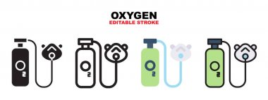 Oxygen icon set with different styles. Icons designed in filled, outline, flat, glyph and line colored. Editable stroke and pixel perfect. Can be used for web, mobile, ui and more. icon