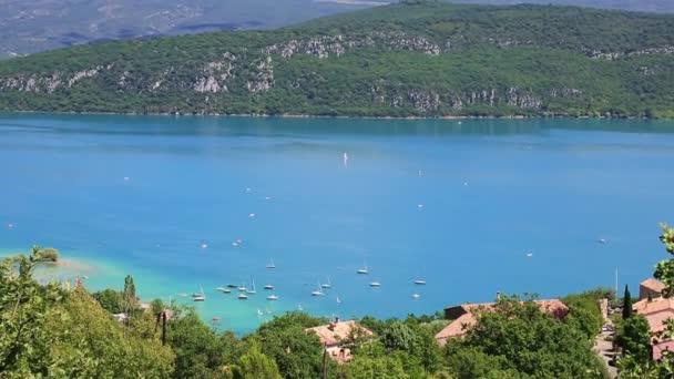 St croix jezero, les gorges du verdon, provence, Francie