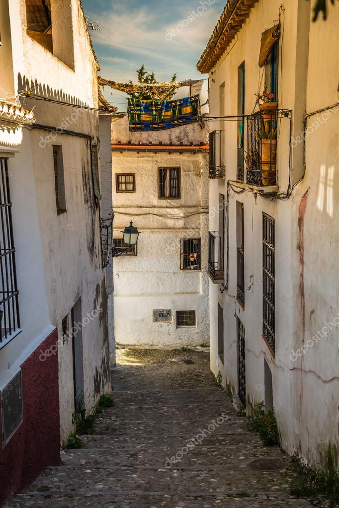 Traditional Spanish Architecture Buildings Houses Street View In Spain Photo By Perszing1982