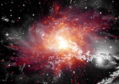 "Картина, постер, плакат, фотообои ""Галактика в свободном пространстве"", артикул 93574748"