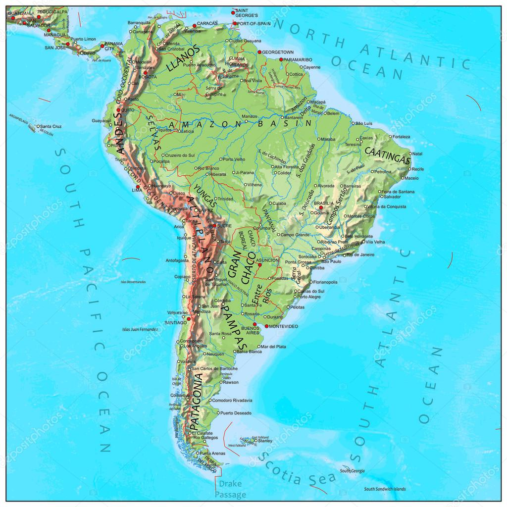 usa map with physical features with Stock Illustration South America Physical Continent Map on Week 9 10 SOUTH besides ments furthermore Lithuania together with High Detailed Australia Physical Map Labeling 228959416 also Physical Map Of Delaware.