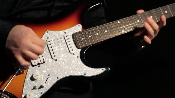 Gitáros gitározik