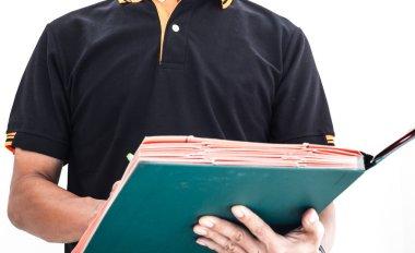 auditor checking documentation