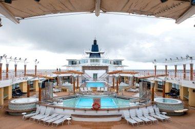 Alaska cruise ship deck