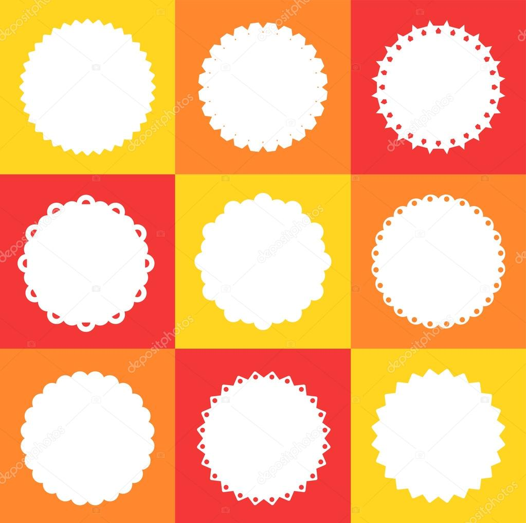 Classic frames. For your graphic design projects — Stock Vector ...