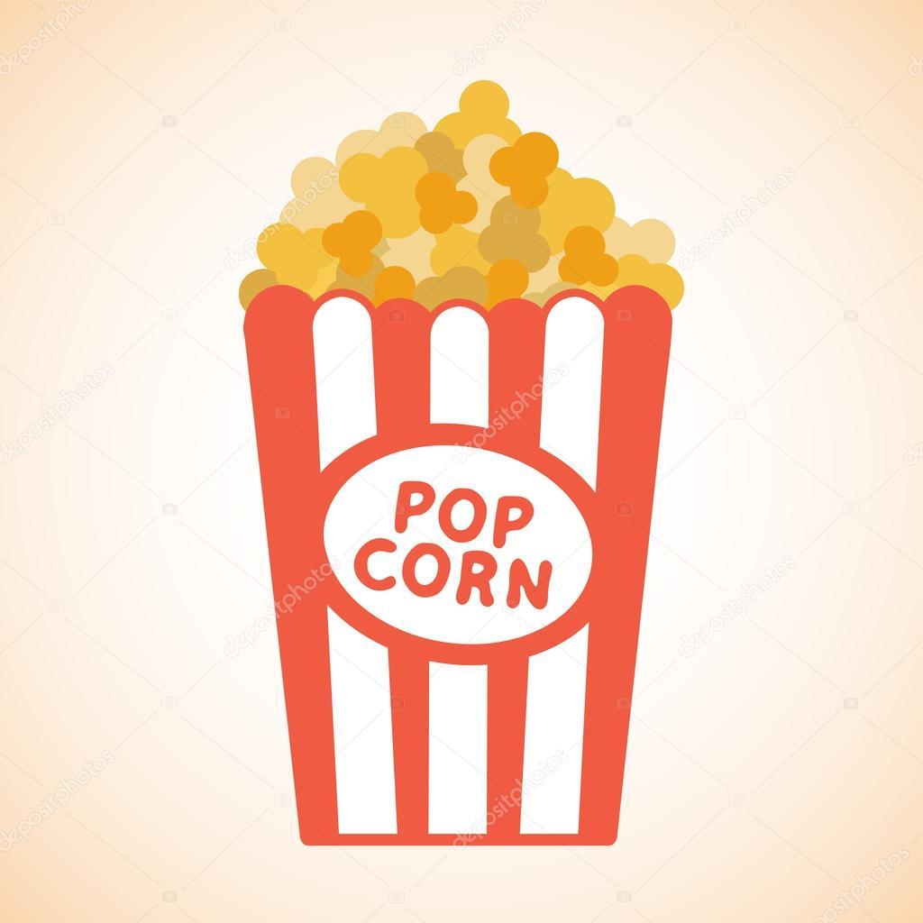 Popcorn Wallpaper Cartoon Popcorn Wallpaper Vector