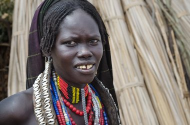 Unidentified woman from Arbore tribe