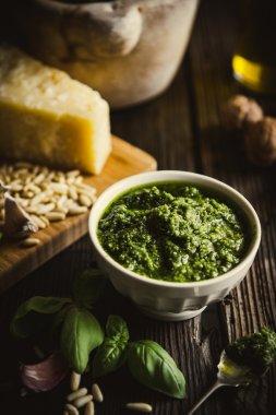 Pesto, italian sauce for pasta