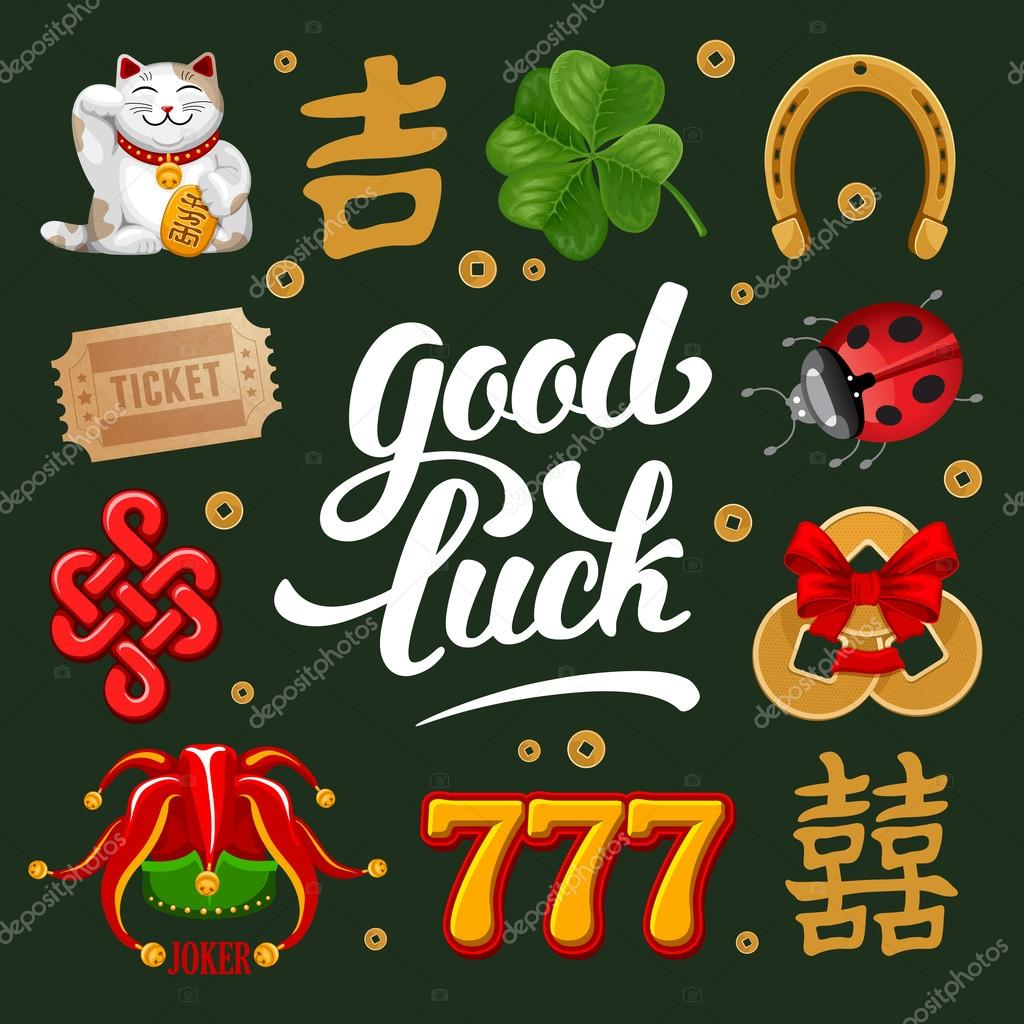 Set of lucky charms symbols and talismans stock vector set of lucky charms symbols and talismans stock vector 101003552 biocorpaavc Image collections