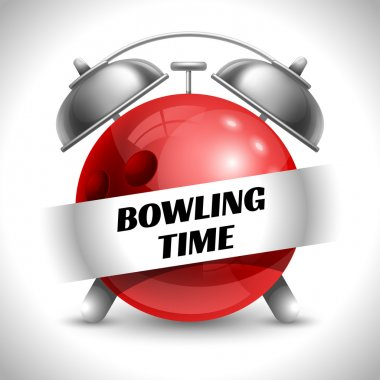 Bowling Time Concept