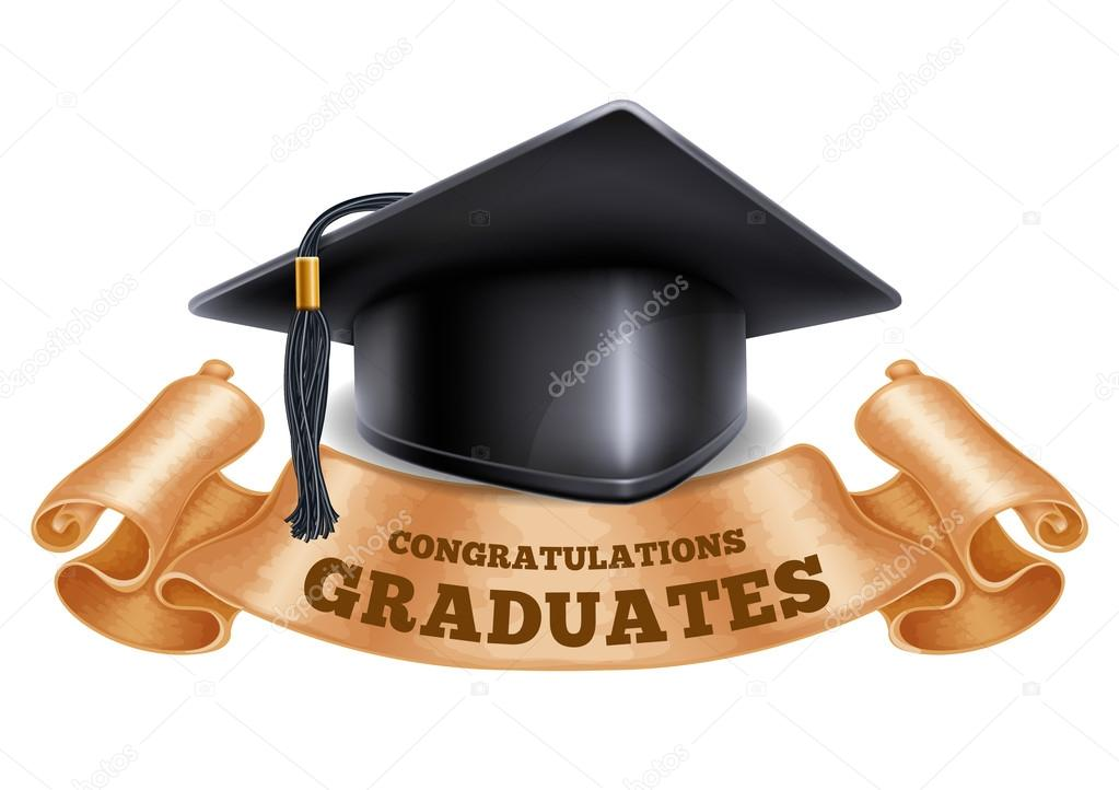 school concept or congratulation graduation stock vector pazhyna