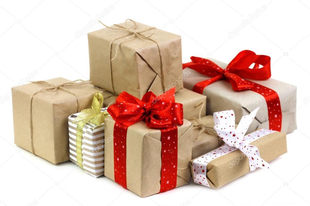 Scatole Per Regali Di Natale.Sacco Di Scatole Di Regali Di Natale Foto Stock C Kellyreekolibry