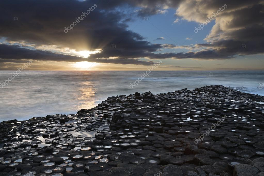 Giants Causeway - County Antrim - Northern Ireland