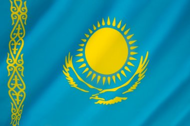 Flag of Kazakhstan - Kazakh Flag