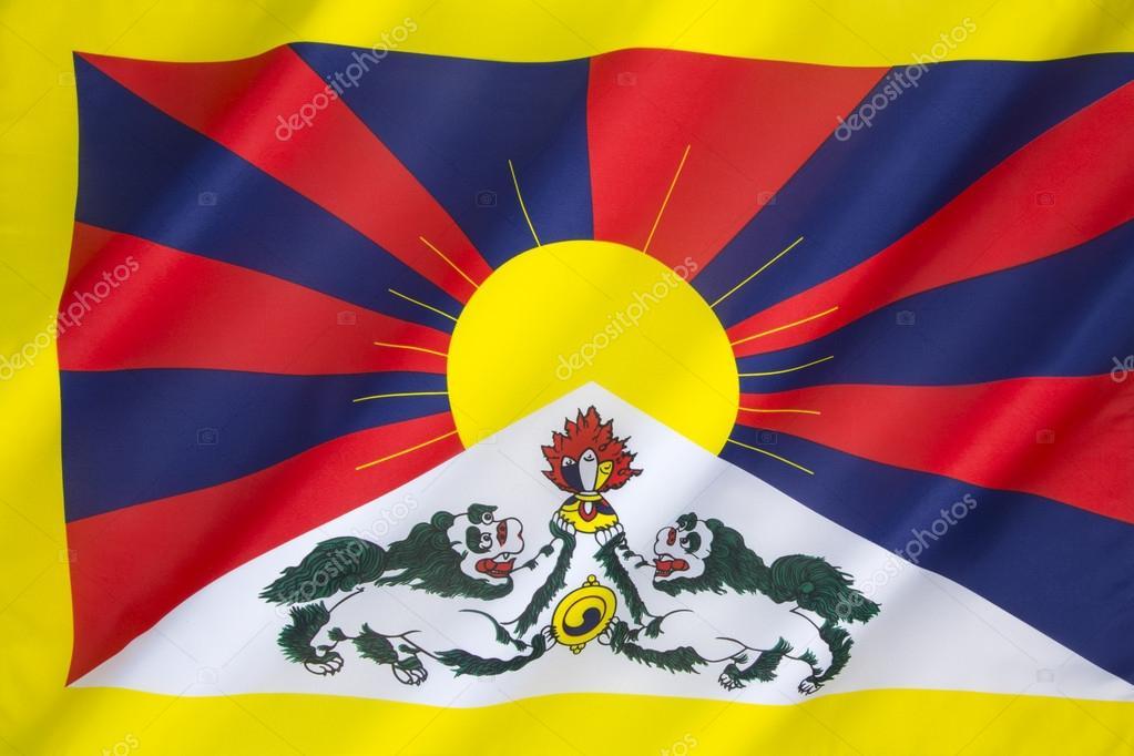 Free Tibet Flag Tibetan Flag Stock Photo Steveallen 56982585