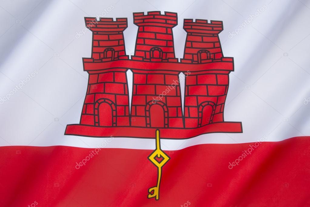 Bandiera Di Gibilterra Foto Stock Steveallen 56983053