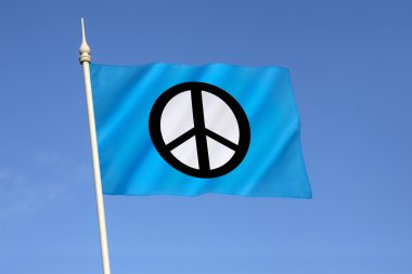 Flag of the Campaign for Nuclear Disarmament  - CND