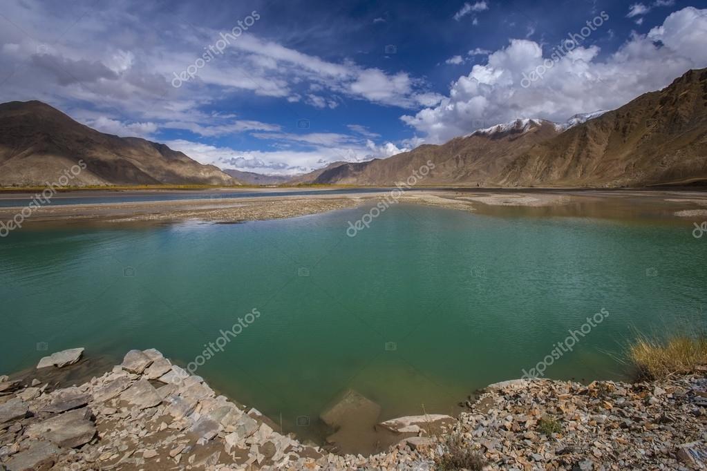 Brahmaputra River - Tibet - China